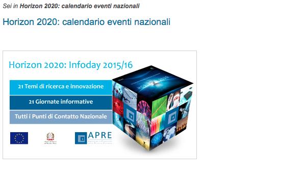 Info Day APRE per ERC
