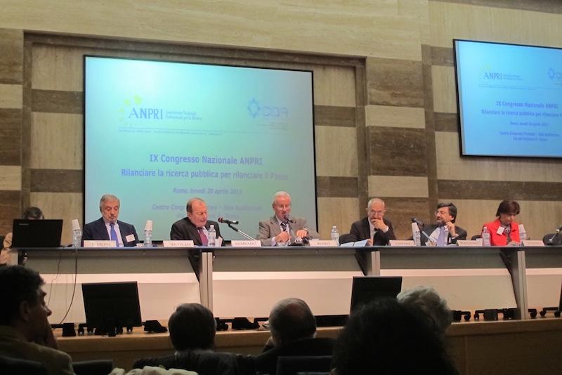 Tavola rotonda IX congresso ANPRI